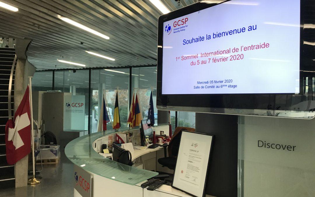 Succès éclatant du 1er Sommet international de l'Entraide à Genève du 5 au 7 février 2020